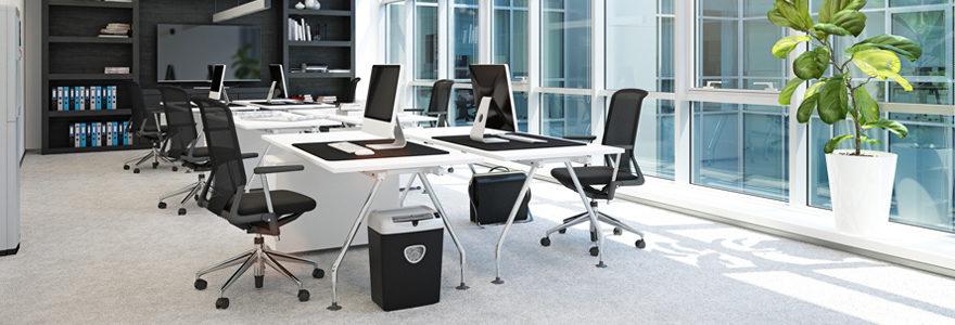 Le choix de mobilier de bureau