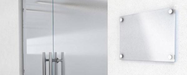 plaques de portes